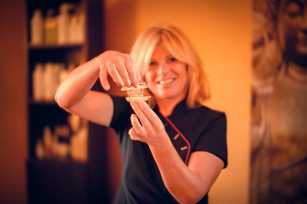 Kosmetikerin - Claudia Schilbe mit Aloe Vera